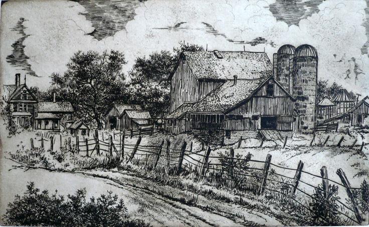 """John Culik, """"Big Farm"""""""