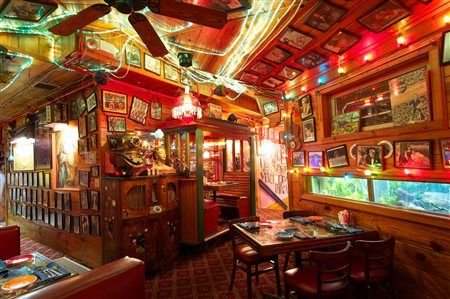 Sanibel Island Restaurants Bubble Room