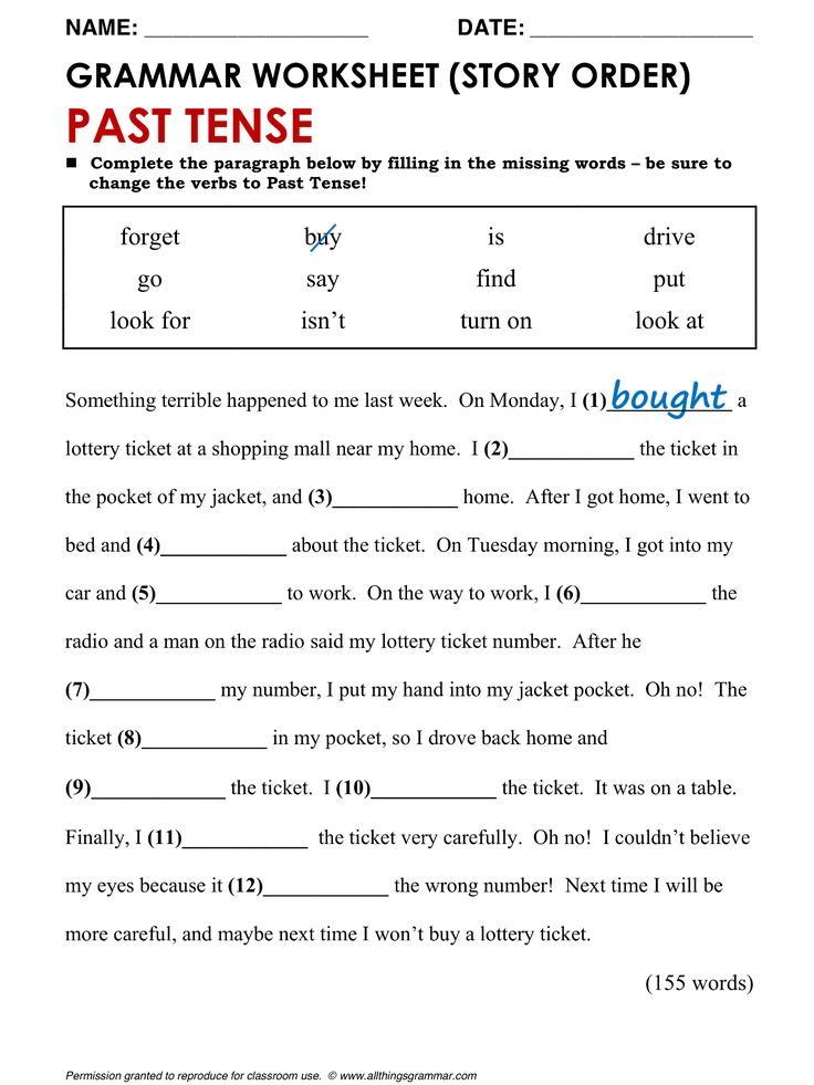 Free worksheets for grade 5 english