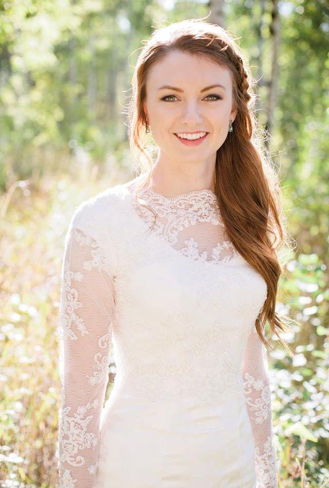 Lds Modest Wedding Dress Yes I Do Pinterest