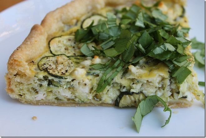 Zucchini Feta Pie- Gourmet or Go Home | imma eat the sh*t outta that ...