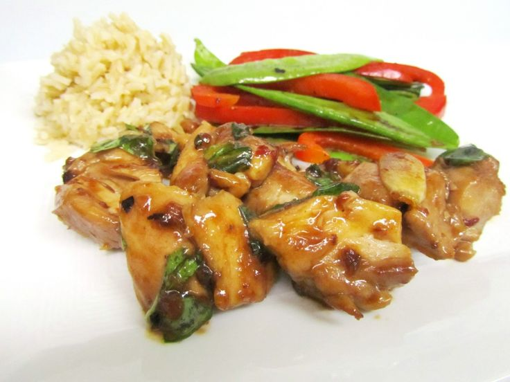 Spicy Basil Chicken | Chicken/Turkey | Pinterest