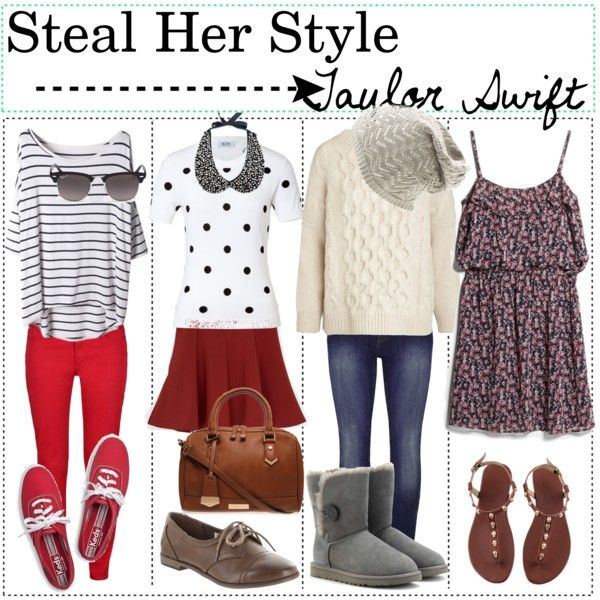Steal Her Style Taylor Swift Fashion Tips Pinterest