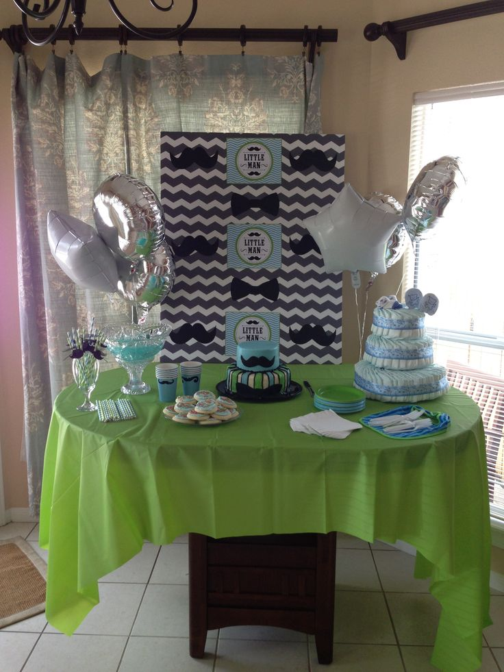 little man baby shower theme baby shower planning pinterest