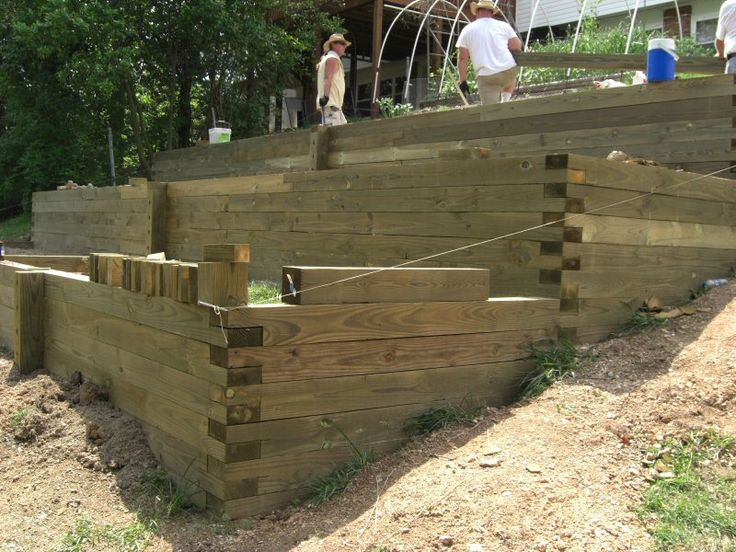 terracing a sloped yard diy slope terraces new home backyard