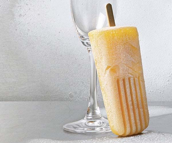 Bellini Pops by Fine Cooking. The combination of ripe summer peaches ...