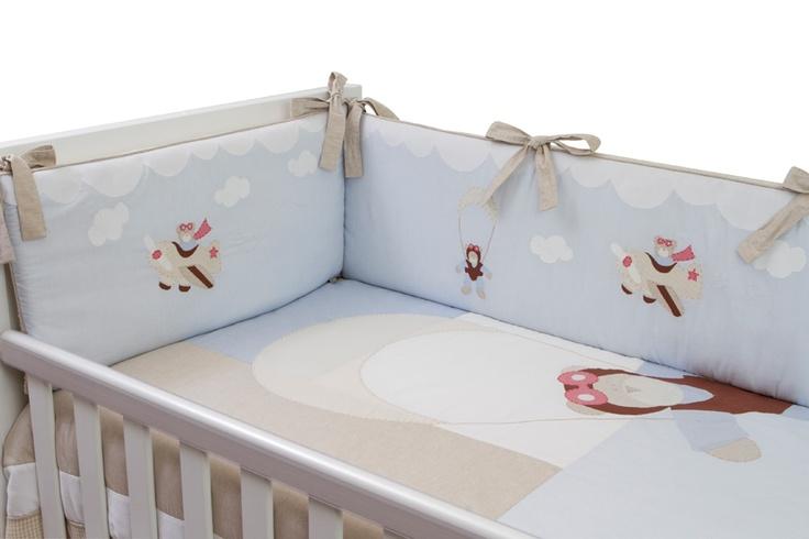 Kit Berço para decorar quarto de bebê9