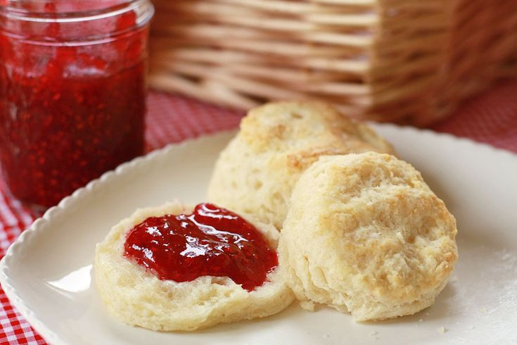 Easy Flaky Buttery Biscuits 3 cups Flour 4-½ teaspoons Baking Powder ...