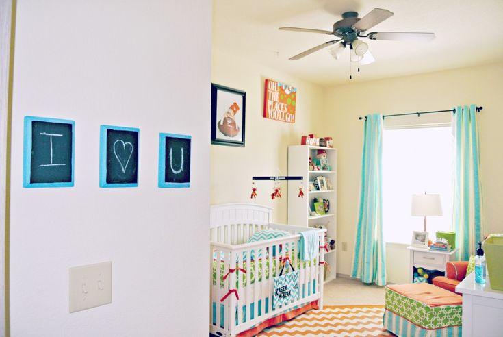Bright and Cheerful Boy Nursery