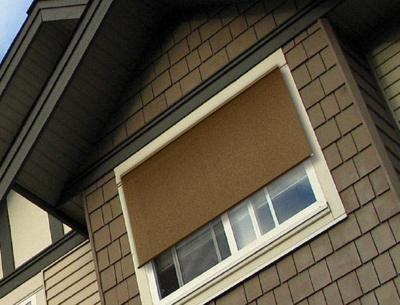 Coolaroo Exterior Window Shade 10 39 X 6 39 Home Stuff Landscaping De