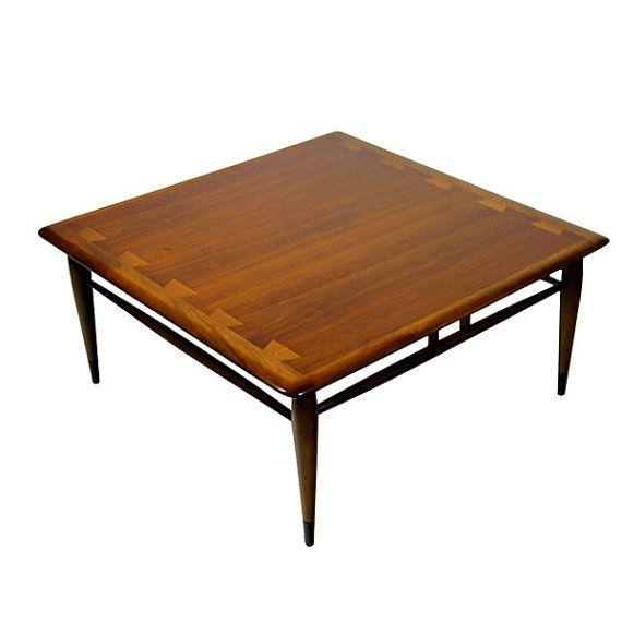 Mid Century Modern Lane Acclaim Coffee Table Vintage 1960's
