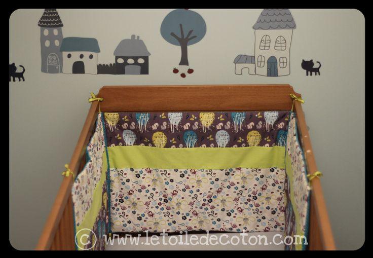 tour de lit b b couture pinterest. Black Bedroom Furniture Sets. Home Design Ideas