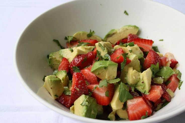... good fruit salsa. That's so Michelle...: Strawberry and Avocado Salsa