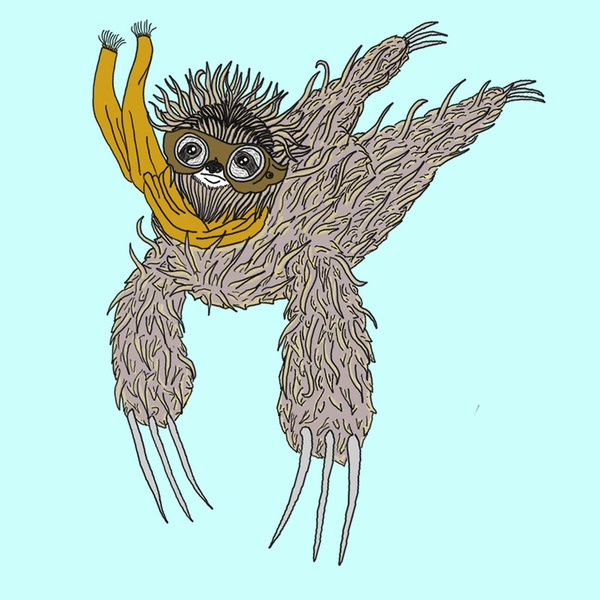 Sloth art project - photo#14