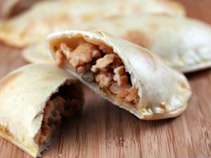Empanadas filled with Chicken Picadillo | Cinco de Mayo | Pinterest