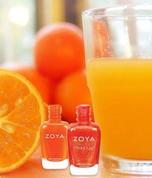 Zoya Coral Good Morning...Zoya Th...