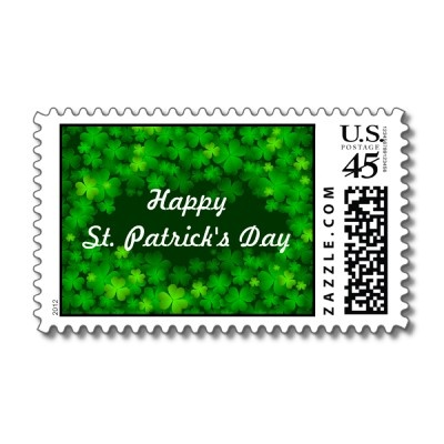 st patricks day mail wraps and flags
