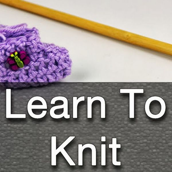 Learn To Knit : Learn to Knit The Crochet Crowd Pinterest