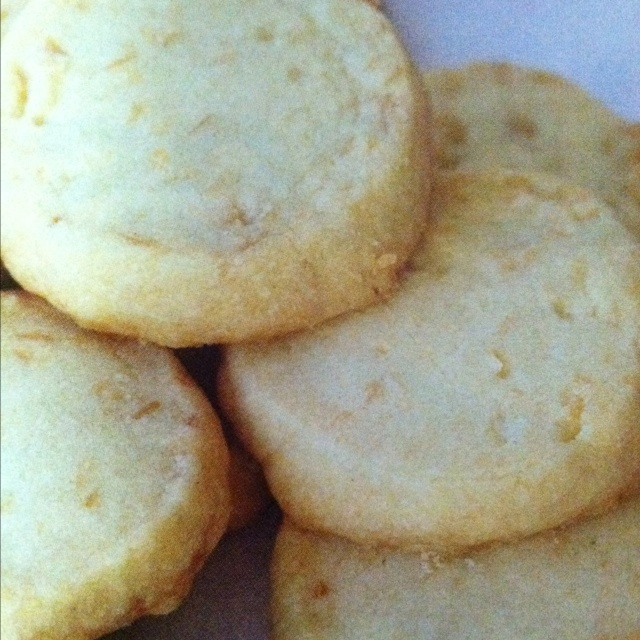 Toasted Coconut Shortbread Cookies 1/2 cup sweetened flaked coconut 2 ...