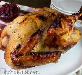 Apple Cider Brined Turkey | food | Pinterest