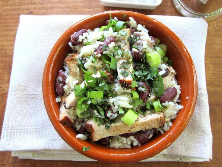 Recipe for Cuban red beans and rice with pork - The Boston Globe