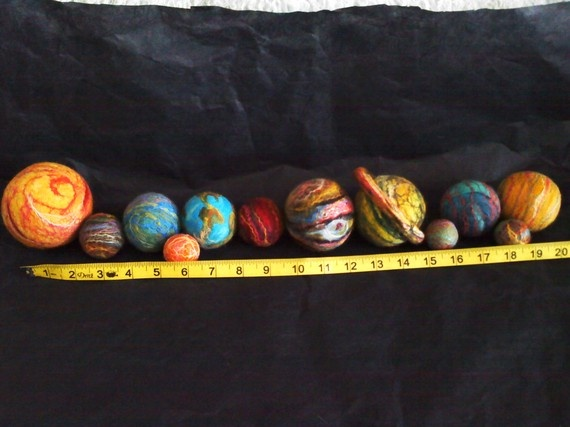 Solar System Planet Balls - Pics about space
