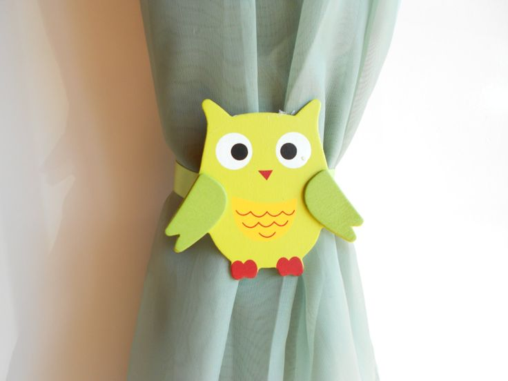 Owl Curtain Tie Backs Shabby Lace Curtain Tie Ba