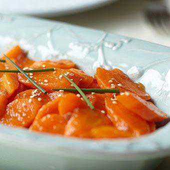 Ginger Garlic Carrots | Give Thanks for Food | Pinterest
