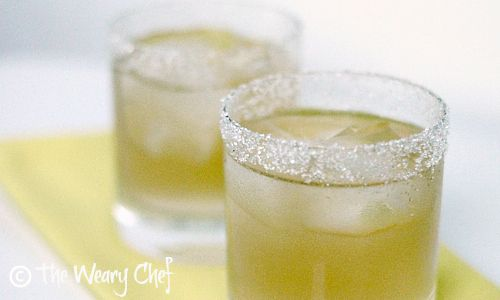 Lemon Drop Cocktail on the Rocks - Sweetened with agave nectar! | The ...
