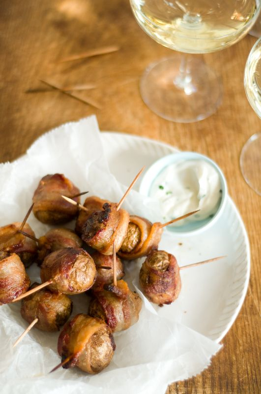 bacon wrapped new potatoes recipes dishmaps bacon wrapped potatoes ...