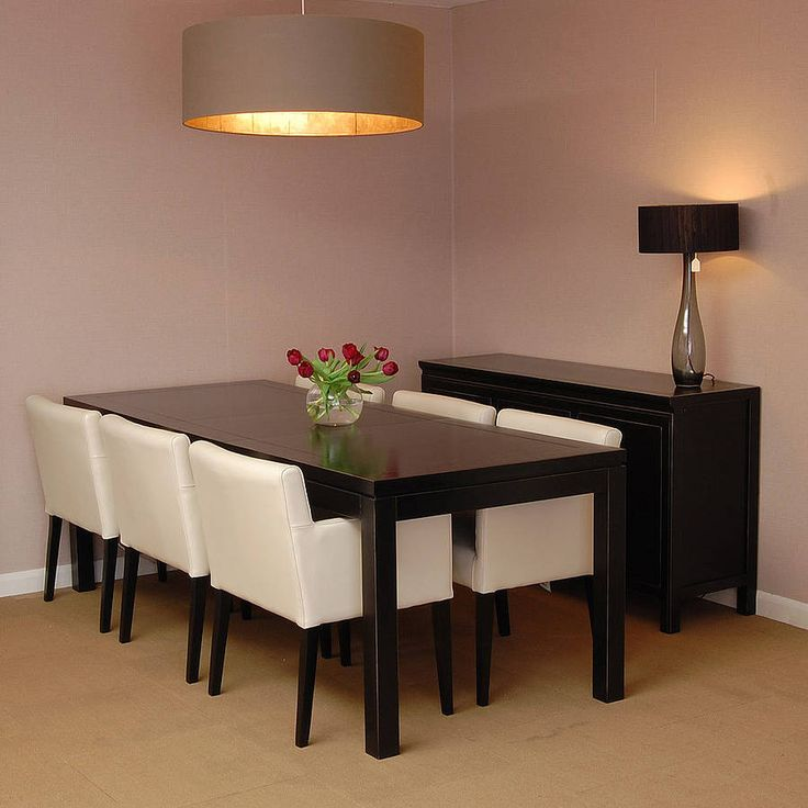 Black Lacquer Dining Table By 4living