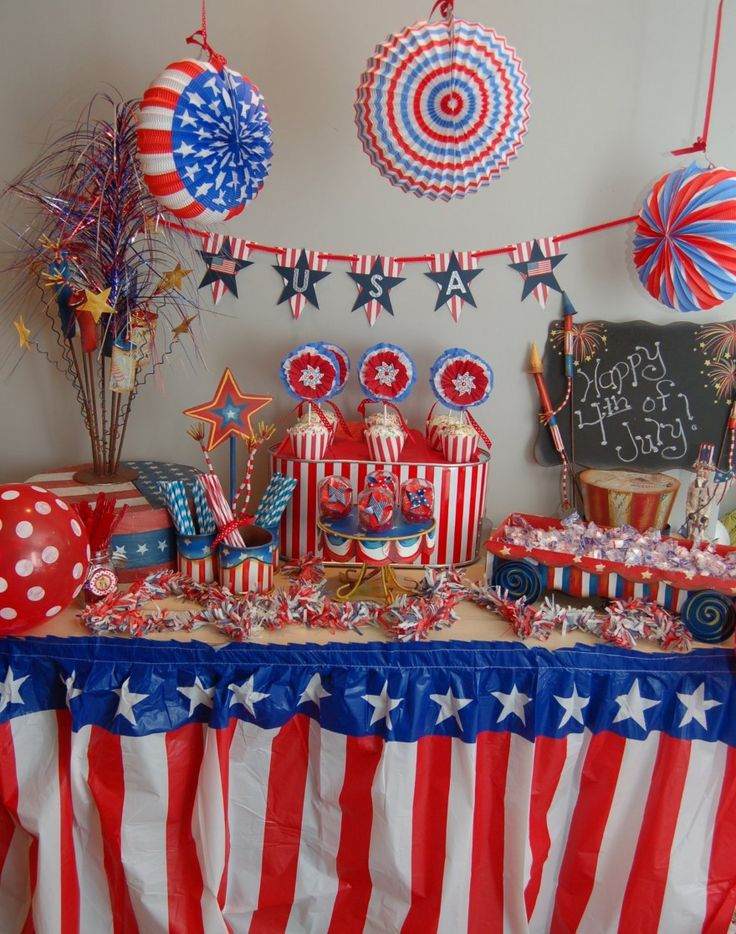 fourth of july party desserts