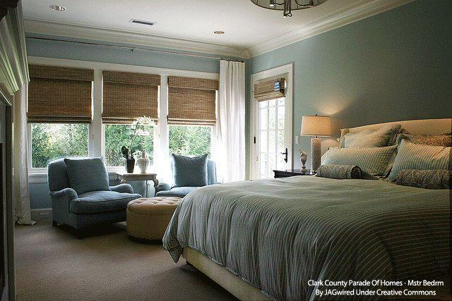 Master Bedroom Window Treatments Interior Ideas Pinterest