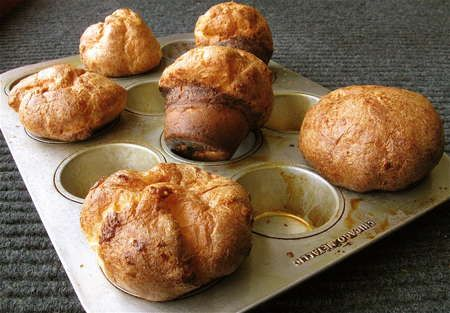 Going-for-the-guarantee popovers | muffins | Pinterest