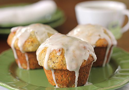 Lemon-Poppy Seed Muffins | plus | Pinterest