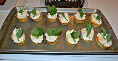 CSA Wednesdays: Crostini with Pea Shoots - Hezzi-D's Books and Cooks