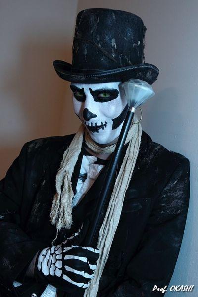 Baron Samedi Face Paint