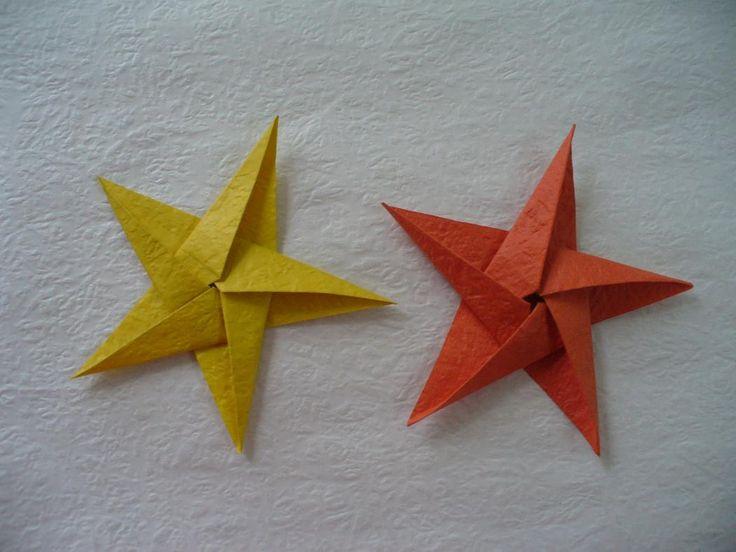 diy origami paper stars