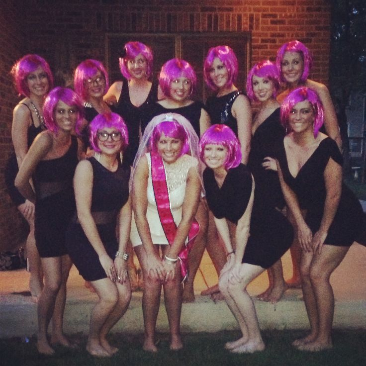 Wig Theme Party 85