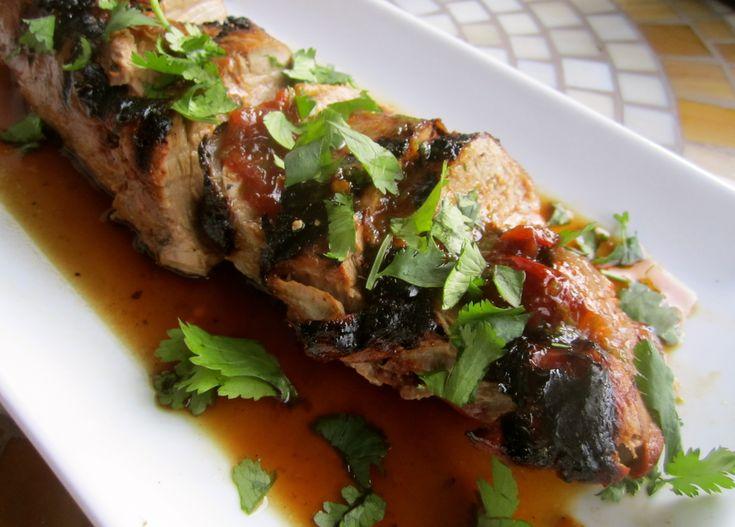 ... pork loin pork loin braised in milk grilled orange chipotle pork loin