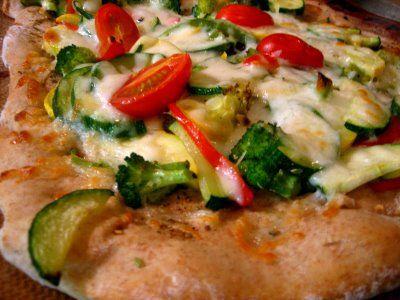 Vegetable-za'atar pizza | Vego Stuff | Pinterest