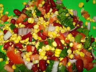 Kidney Bean & Corn Salad | Recipes | Pinterest