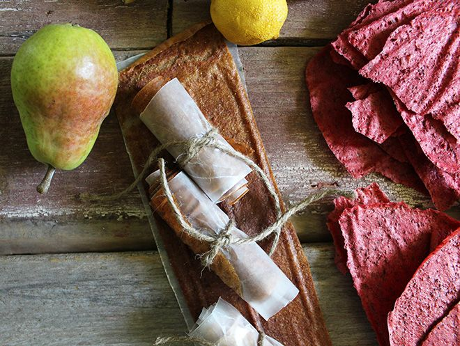 Fruit Leather | Apple Cinnamon, Strawberry, and Pear
