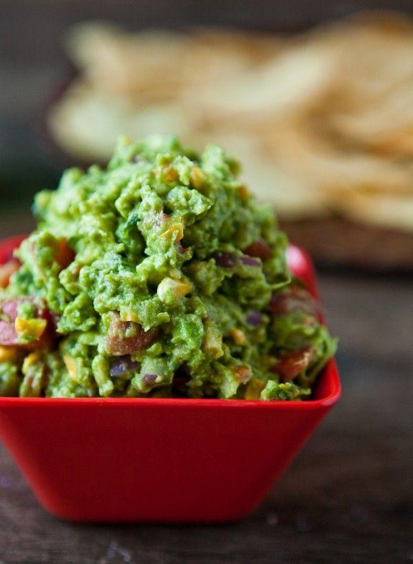 Roasted Corn Guacamole | Food & Drink | Pinterest