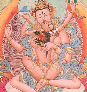 This is my favorite! Shiva and Shakti embracing - all chakras aligned in blissful union. <3