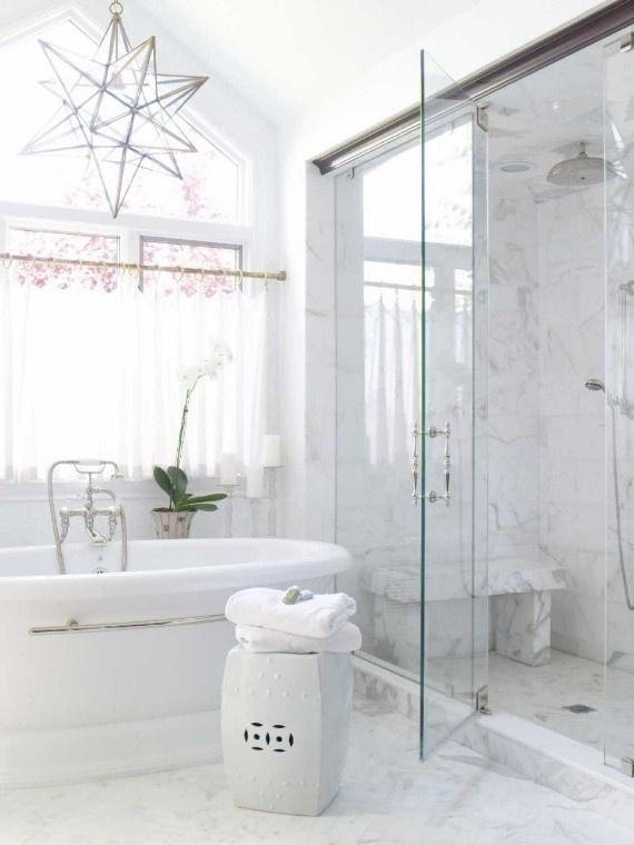 Love Carrara Marble Bathrooms Interiors Pinterest