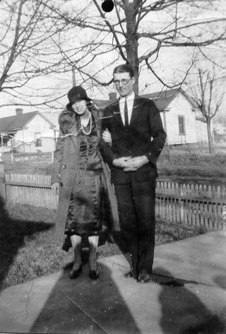 ❥ My grandmother and grandfather