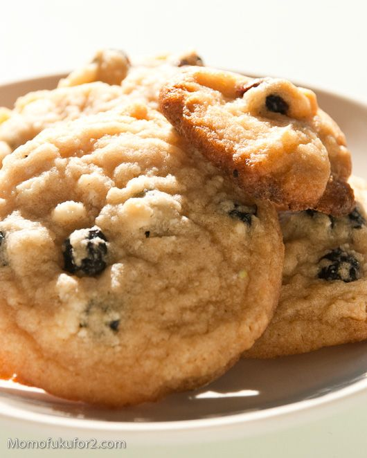 Milk Bar Blueberry and Cream Cookies | Yum | Pinterest