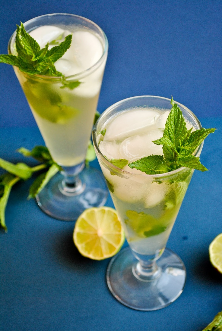 Iced Mint Green Tea Mojito | Best of the recipes tested tonight