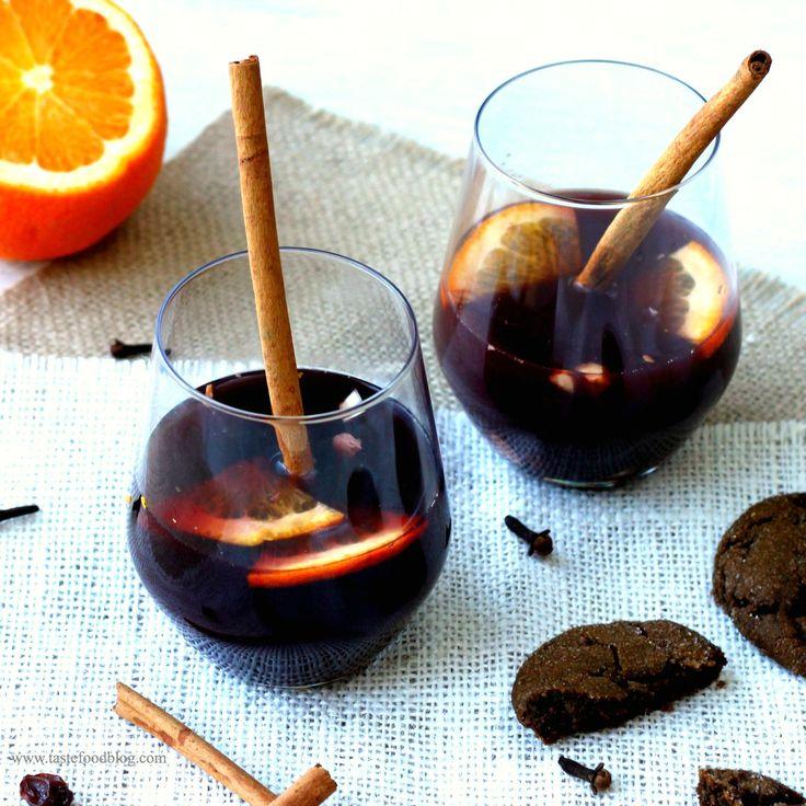 Gløgg - Mulled Spiced Wine   Recipes : Beverages   Pinterest